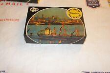 Vintage Tuco Round Puzzle Miniatures New York Skyline 55+ pieces