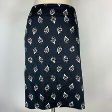 Skirts Bentley Brown Hounds Tooth Pleated A-line Knee Length Skirt Regular 16 #405