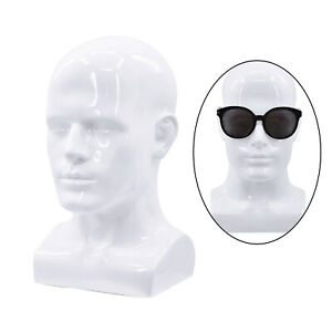 PVC Multi-Use Mannequin Head Model Lifesize Hat Wig Display Stand 22Inch