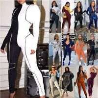 Fashion Women Rompers Suit Jumpsuit Sport Yoga Gym Fitness Workout Bodysuits New