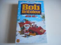 K7 VHS CASSETTE VIDEO - BOB LE BRICOLEUR / JOYEUX NOEL ! N°2
