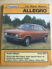 AUSTIN ALLEGRO 1973 ON WARDS OWNERS WORKSHOP AUTOBOOKS MANUAL