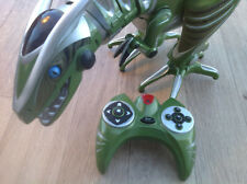 RARE GREEN Lg WowWee RoboraptorRC Raptor Trex robot dinosaur CHRISTMAS PRESENT