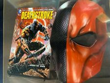 DC Deathstroke Book and Mask Set - NEW MSRP $30