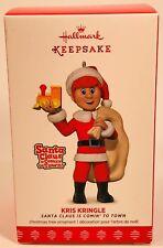 2017 Hallmark Keepsake Ornament KRIS KRINGLE Santa Claus Is Comin' to Town NIB