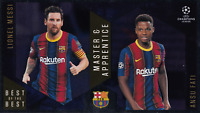 Topps Best Of The Best Champions League 20/21 Núm 133 Messi & Fati