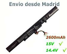 Batería PARA ASUS A41-X550E X450J Series Compatible para 15v 2950mAh