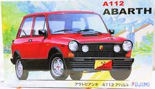 '2015 Fujimi 1/24 Autobianchi A112 Abarth model kit