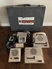 Lot of Aiphone Security Intercom & Accessories Vintage Laf-5 Laf-10 La-An3 Lar-2