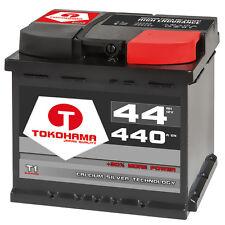 Autobatterie 44Ah +30% mehr Leistung CA/CA Starterbatterie sofort betriebsbereit