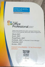 Microsoft OFFICE Professional 2007 | Vollversion | MLK | Outlook Access | Deutsc