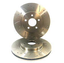 Mitsubishi Space Star 1.3(DG1A)01|99-01|05 Front Drilled & Grooved Brake Discs