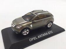 opel antara gtc n37/40 collection concept cars 1/43 altaya sur socle + fascicule