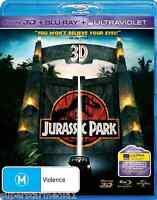 Jurassic Park 3D : NEW Blu-Ray 3D