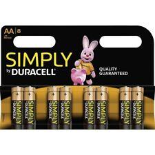 DURACELL Batterie Simply Alkaline MN2400 Micro AAA LR03 1,5V 8er-Bli