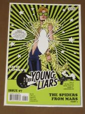 "YOUNG LIARS #7 VF DAVID LAPHAM VERTIGO ""SPIDERS FROM MARS""  MATURE READERS"