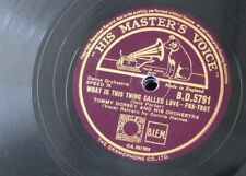 78rpm TOMMY DORSEY what is this thing called love / love sends a little gift of