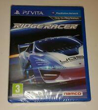 Ridge Racer Ps Vita Nuevo Sellado PAL Reino Unido Sony Playstation PSV Namco juego de carreras