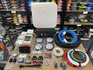Full Camper van Electrics Kit Conversion Mains 240v 12v 5KW Diesel Night heater