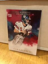 2016 Panini Origins Eli Manning Red Parallel New York Giants
