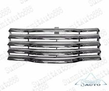 1947 48 49 50 51 52 53 Chevy Pickup Truck Chrome Grille Assembly Black Bar