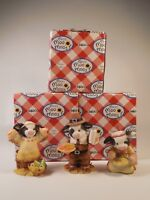 Mary's Moo Moos Lot of 3 figurines in box (G) 372587 372579 372595