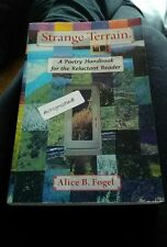 Strange Terrain By Fogel, Alice B.-Like New- Autographed
