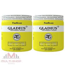 GLADIUS x2 - 640g Pre Workout Booster zum Muskelaufbau Stärkste Hardcore Formel