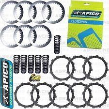 Apico Clutch Kit Steel Friction Plates & Springs For Yamaha WR 450F 2007 Enduro