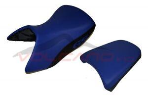 BMW R 1200 GS Adventure 2005 - 2012 Volcano design Seat cover Anti Slip blue bla