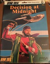 Decision At Midnight - FASA Star Trek RPG # 2219 New SW FREE US Shipping