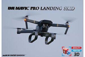 Épuisette Dérapage Jambes pour DJI Mavic Pro Contremarche Drone Haut Qualité 3D