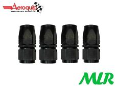 AEROQUIP AN -6 JIC STRAIGHT FEMALE FUEL HOSE PIPE FITTING UNION FBM4412 SET OF 4