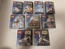 Lego Star Wars 11 Mini 4485-4486-4487-4484 4489-4491-4492-4493-4494-6966-6967