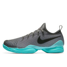 New Nike Air Zoom Ultra React HC Mens Hard Court Tennis Shoes Gray - Size 7.5