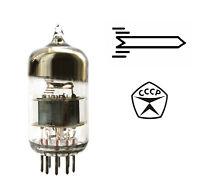 2 pcs 6N23P / E88CC / 6DJ8 / 6922 Voskhod / Rocket Double Triode Tubes NOS