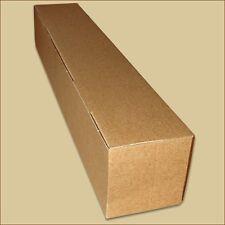 Karton Faltschachteln Versandhülsen 595 x 75 x 75 mm