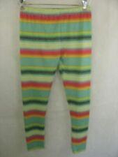 Crazy Train Leggings Yoga Pants Striped L/XL