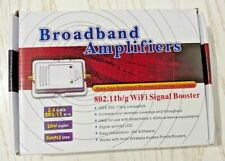 BROADBAND AMPLIFIERS 802.11b/g WIFI SIGNAL BOOSTER