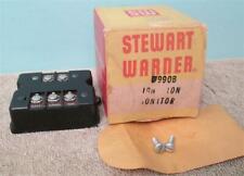 NOS Stewart Warner 990B Ignition Monitor Pedestal Tach Yenko Camaro Chevelle WOW