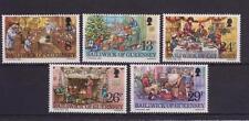 GUERNSEY 1982 CHRISTMAS STAMP SET MNH SG 263-267