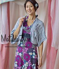 Womens Matilda Jane Wonderful Parade blue Skittles Shrug Size S Small EUC