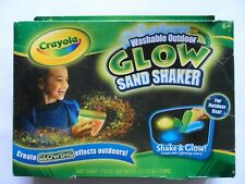 Crayola Washable Outdoor Glow Sand Shaker