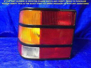 OEM 1988 1989 FORD MERKUR SCORPIO DRIVER LEFT TAIL LIGHT 88 89 86GG-13A603-AA