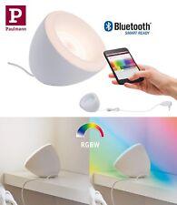 Paulmann SmartHome BLE Tischleuchte Cornus RGB+W 12W Weiß Steuerung App oder FB