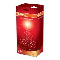 Osram LED Lichterkette Weihnachtsbeleuchtung 80 LED warmweiß Länge 21,85m