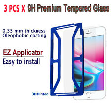 3pcs x Tempered Glass Screen protector with EZ Applicator for iPhone 8S/ 8 i8G3