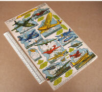 1940s/50s Vintage Flying Boats Hydravions. French Stand-Ups Card Cut-Out Models