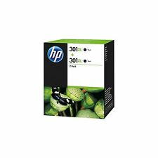 Genuine HP 301XL Ink Cartridges Twin Black for HP DeskJet 3055A 3050 eAll in One