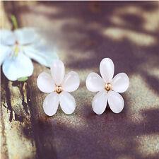 Fashion Korean Cherry Jewelry Sakura Flower Cute Vintage Ear Stud Earrings HOT